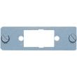 Plaque de montage pour connecteur trapèze