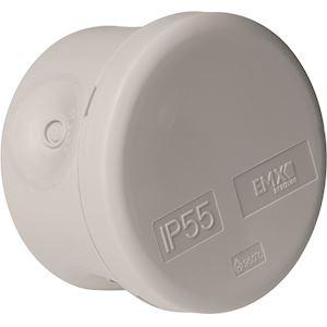 (x 100) Boîte de dérivation IP55 étanche D= 60 mm couvercle clipsé