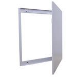 Porte pour Coffret 8 rangées métal