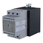 Contacteur statique 2ph 600V cmd ana(V) proportionnel 1 cycle 2x40A ctrl charge
