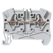 Bloc jonc Viking 3 à ressort - 1 jonc/2 conduct - 1entr/1sortie - gris - pas 5