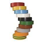 Ruban adhésif Isolant PVC HelaTape Flex 15 - Multicouleur 15x10