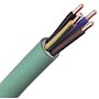 Câble FR-N1X1G1 LSOH sans halogène cuivre 5G2,5 classe 1 vert à la coupe