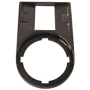 Porte-étiquette, sans étiquette, noire