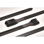 Collier d'installation 500x9 mm en PA66HSW Résistant aux UV noir - CSL500