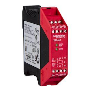 Preventa XPSAC - contrôleur - arrêt d'urgence - 24Vca/cc