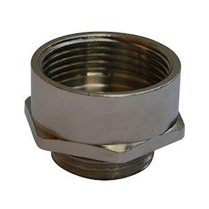 Amplificateur 6 pans M10/M12 laiton nickelé