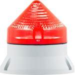 CTL600 LED , feu fixe/clignotant, IP54, V90/240AC, diam 60mm, base grise