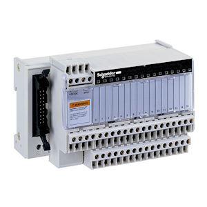 Telefast ABE7 - embase de raccordement passive - 16 entrées ou sorties - DEL