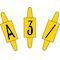 vignette format 6 x 11mm lettre x