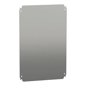 Spacial - châssis plein - acier galvanisé - pour coffret H=600xL=400mm