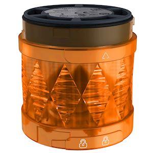 Harmony XVU - élément lumineux D=60 - DEL - fixe - 24VDC - orange