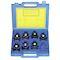 Coffret plastique vide pour le rangement de 8 matrices 13 UE cuivre