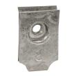 Clips-écrou pour vis M5 - pour plaques perforées Lina 25