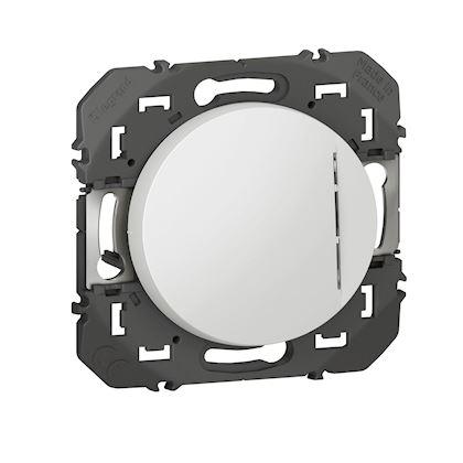 Legrand 600011 Interrupteur Ou Va Et Vient Avec Voyant Lumineux Dooxie 10ax 250v Blanc Rexel France