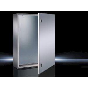 Coffret AE inox 304 avec plaque de montage L380 H600 P210