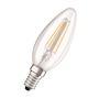 LEDFil FLAMME PARATHOM CLB40 Verre Claire E14 4W 470lm 2700K