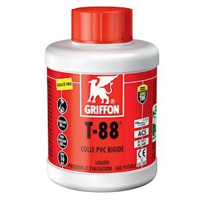 T-88 Colle PVC liquide spéciale Eau Potable 500ml