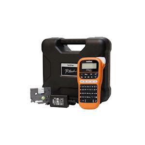 Etiqueteuse portable 12mm avec mallette, adaptateur secteur et un ruban TZe231