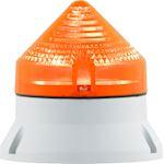 CTL600 LED , feu fixe/clignotant, IP54, V12/24ACDC, diam 60mm, base grise