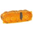Boîte multiposte Batibox - cloison sèche - 3 postes - 6/8 mod - prof. 40 mm