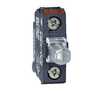 Harmony ZALV - bloc lumineux pour boîte à boutons - rouge - LED intégrée 24V