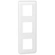 Plaque Programme Mosaic - 3x2 modules - vertical - Blanc