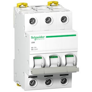 20 A 230V Acti9 Schneider Electric A9E18074 iSSW commutateur Blanc 2 contacts 3 positions inverseurs OF