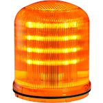 MLINE Feu LED ORANGE fixe/clignotant/tournant IP66 multitension
