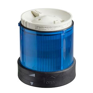 Harmony XVBC - élément lumineux - fixe - bleu - 24Vca/cc