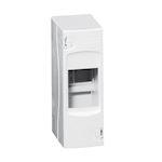 Coffret cache-bornes 2 modules - blanc RAL9010