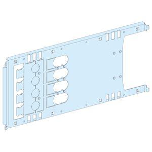Platine NS630 horizontal 4P