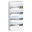 Coffret Drivia 13 modules - 4 rangées - IP30 - IK05 - Blanc RAL 9003