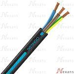 Câble rigide R2V Distingo cuivre 3G6 couronne de 25m