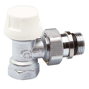 T/ête thermostatique S/érie C T/ête de robinet RT2012 avec robinet /équerre 1//2