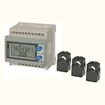 Compteur d'energie 3/phase retrofit RS485 + 3 TI 150A