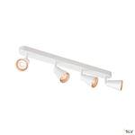 AVO QUAD, applique et plafonnier, quadruple, QPAR51, blanc, max. 4x50W
