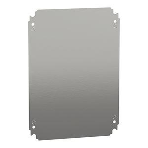 Spacial - châssis plein - acier galvanisé - pour coffret H=400xL=300mm