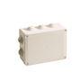 Boîte de Dérivation IP55 960° à Tétines 150x110x70 Gris