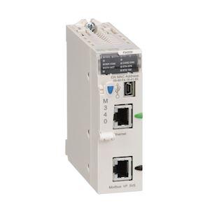 Modicon M340 - processeur - 1024 E/S TOR 256 E/S ANA - 1Modbus - 1Ethernet