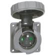 Socle tableau Hypra - IP66/67-55- 16 A - 250 V~ - 2P+T - brochage dom - plast