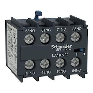 TeSys CA - bloc de contacts auxiliaires - 4F+0O - bornes à vis-étriers