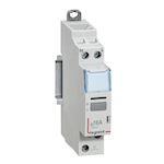 Télérupteur silencieux à vis 230V~- 1P - 250V~ - 16A - 1F - 1 module