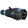 Fiche 16A 3P +T 380/415 Vac 50/60 Hz Polyamide ATEX / IECEx