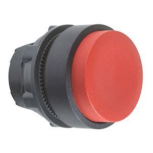 Harmony XB5 - tête bouton poussoir à impulsion - D=22 - dépassant - rouge