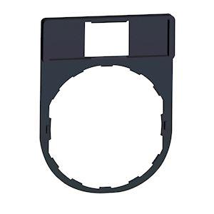 Harmony - porte étiquette plat 30x40 pour étiquette 18x27