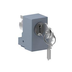 Spacial SM/SF - barillet cylindrique - serrure à clé 2433A