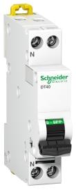 Prodis DT40 - disjoncteur - 1P+N - 6A - courbe C