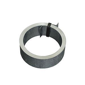 Feuillard acier largeur 40 mm /longueur  5 mètres - Galvanisé