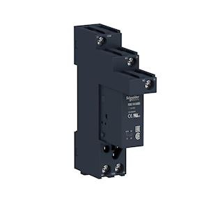 Zelio Relay RSB - relais embrochable avec embase - 1OF 12A - 24VDC